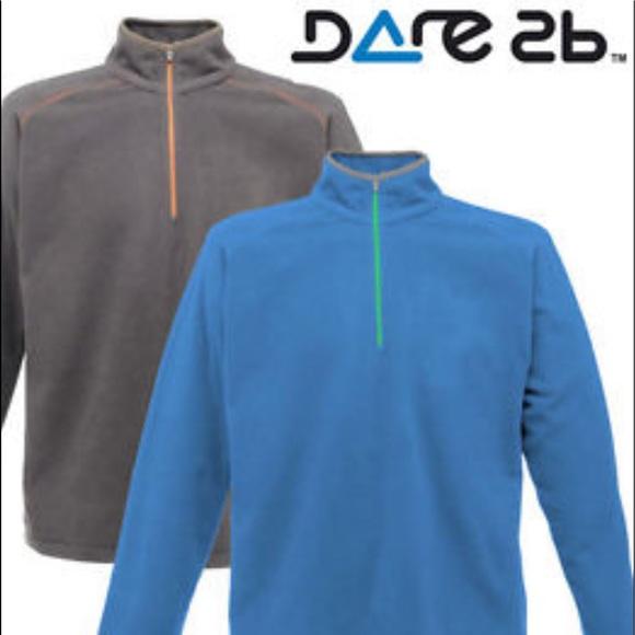 ab12123df51 Men's Dare2B 1/2 Zip Gray Fleece Pullover